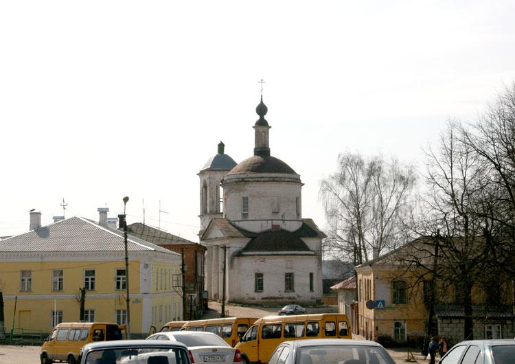 Храм Спаса Преображения на Взгорье в г. Боровске